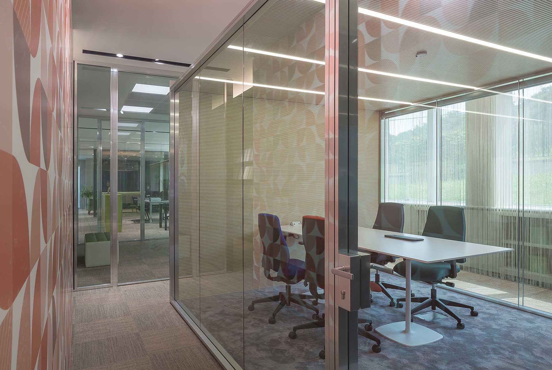pareti divisorie LevelHUB Smart Office