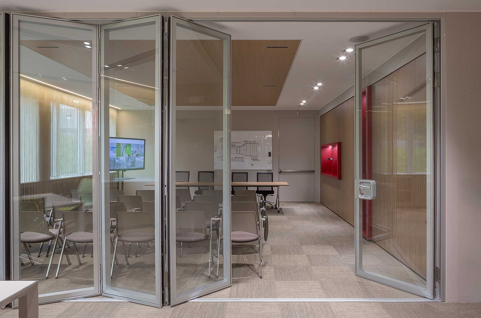 pareti manovrabili LevelHUB Smart Office